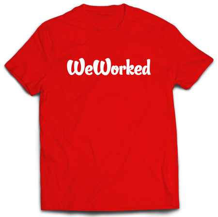 classic weworked tee